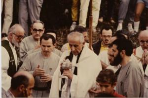 14.9.1985 consegna della pisside a don Giuseppe
