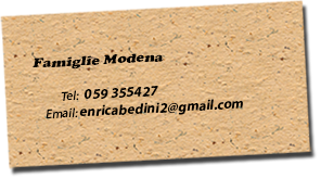 Famiglie Modena